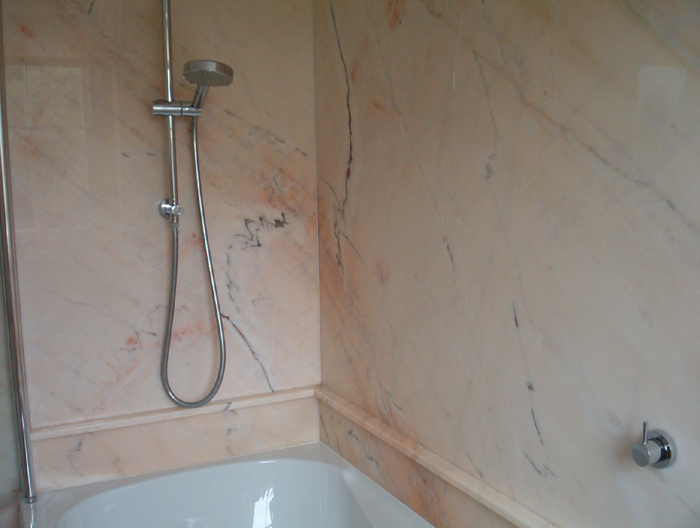 Granite Bathroom Tiling